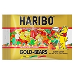 Haribo Gold-Bears Gummi Candy Laydown Bag - 14 Oz.