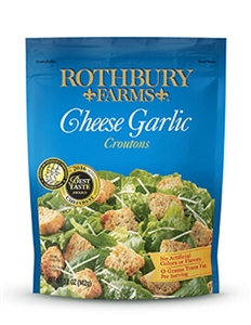 Homestyle Cheese Garlic Croutons - 2.25 Lb.