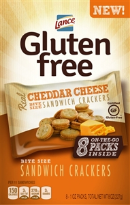 Gluten Free Cheese Sandwich Cracker Multi-Pack - 1 oz.