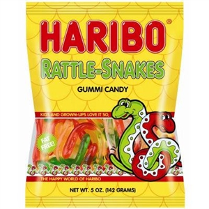 Rattle-Snakes Gummi Candy - 5 oz.