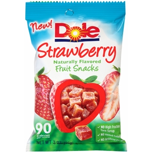 Fruit Snacks Strawberry - 3 Oz.