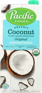 Organic Coconut Unsweetened Original Milk - 32 Oz.