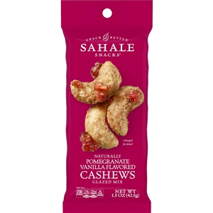 Sahale Cashews with Pomegranate - 1.5 oz.