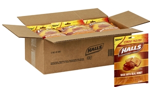 Halls Cough Drops Honey 80 Count