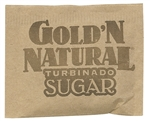 Gold N Natural Turbinado Sugar Packets - 3.5 Gr.
