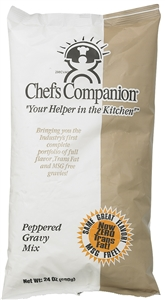Instant Pepper Gravy Mix No Added MSG - 24 Oz.