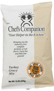 Chefs Companion Turkey Gravy Mix No Msg Added - 15 Oz.