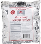 Strawberry Gelatin Mix - 24 Oz.