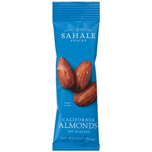 Sahale California Almond Dry Roasted - 1.5 Oz.
