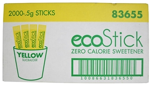 Sugar Sweetened Sucralose Yellow Packets - 0.5 Gr.