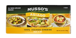 Asiago Cheese Crispy - 200 Gr.