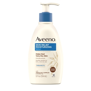 Aveeno Skin Relief Gentle Scent Lotion Nourishing Coconut - 12 Fl. Oz.