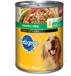 Pedigree Choice Cuts In Gravy With Country Stew - 13.2 Oz.