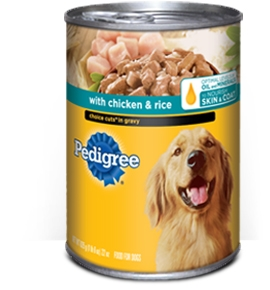 Pedigree Traditional Ground Dinner Chicken and Rice - 13.2 Oz.