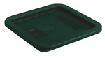 StorPlus Square Container Lid Dark Green - 2.- 4 Qt.