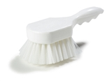 Sparta White Utility Scrub Brush - 8 in. x 3 in.