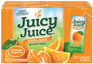 Juicy Juice Orange Tangerine Single Serve Box - 54 Fl. Oz.