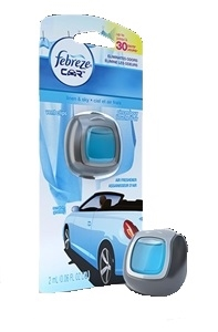 Febreze Car Vent Clip Linen and Sky Air Freshener - 0.06 Fl. Oz.