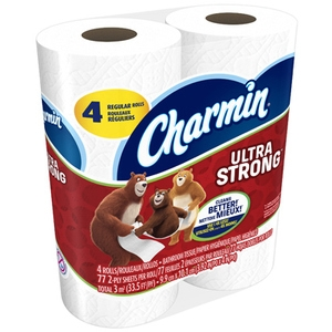 Ultra Strong 2 Ply Unscented Toilet Tissue