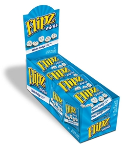 Flipz White Fudge Covered Supermini Pretzel Pantry - 2 Oz.