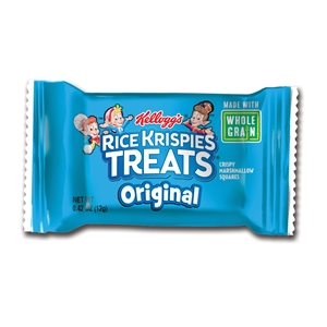Rice Krispies Treats Mini Squares Bar Made with Whole Grain - 0.42 Oz.