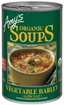Amys Organic Vegetable Barley Soup - 14.1 Oz.