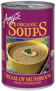 Organic Cream of Mushroom Soup - 14.1 Oz.