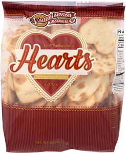 Crackerbread Hearts Original Deli Bags - 8 Oz.
