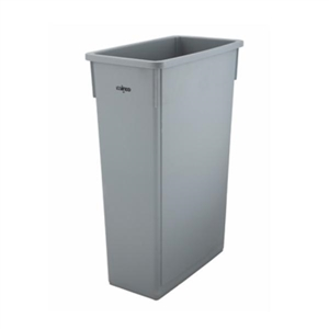 Slender Trash Can Grey - 23 Gal.