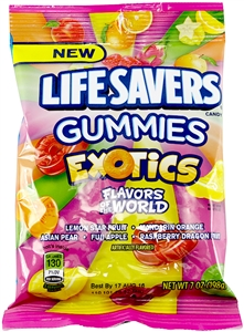 Lifesavers Gummies Exotics - 7 Oz.