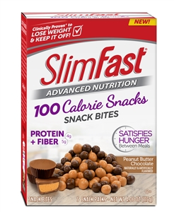 Slimfast Poppers Peanut Butter Chocolate - 23 Gr.