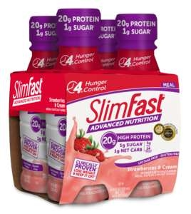 Slimfast Ready To Drink Strawberry and Cream - 11 Fl. Oz.