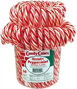 Spangler Candy Canes Peppermint