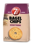 7 Days Bagel Chips Everything - 3.17 Oz.