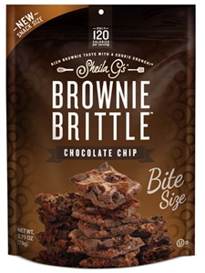 Brownie Brittle Choc Chip - 2.75 Oz.
