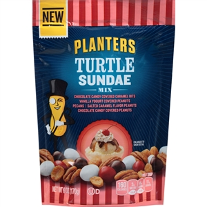 Planters Snack Nuts Turtle Sundae Mix - 3 Oz.