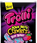 Trolli Sour Brite Crawlers Minis Very Berry - 9 Oz.