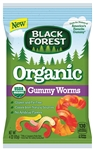 Black Forest Organic Gummy Worms - 4 Oz.