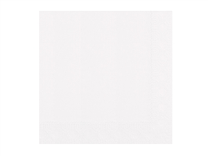 Dinner Napkin White 3 Ply Paper - 17 in. x 17 in.