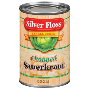 Silver Floss Chopped Sauerkraut - 10 Oz.