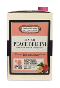 Peach Bellini Handcrafted Cocktail Mixer - 46 Fl. Oz.