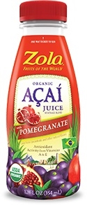 Organic Acai Juice Pomegranate - 12 Fl. Oz.