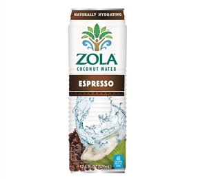 Natural Coconut Water with Espresso- 17.5 Fl. Oz.