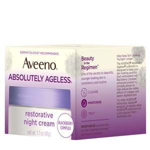 Aveeno Absolutely Ageless Restoring Night Cream - 1.7 Oz.