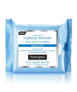 Neutrogena Make Up Remover Cleansing Cloths Fragrance Free