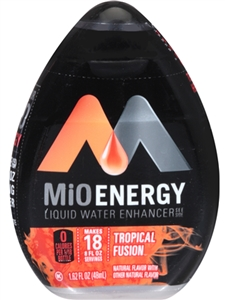 Mio Energy Beverage-Liquid Concentrate Tropical Fusion - 1.62 Oz.