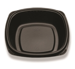 Forum Deep Plate Black - 7 in.