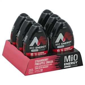 Mio Energy Beverage-Liquid Concentrate Strawberry Pineapple Spark- 1.62 Oz.
