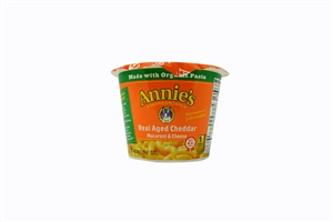 Annies MWO Macaroni and Cheese Aged Cheddar - 8 Oz.