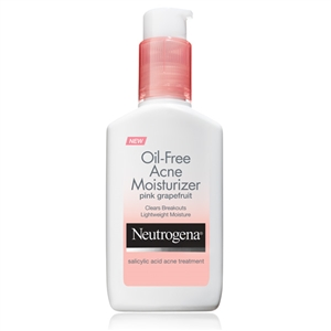 Oil-Free Acne Moisturizer Pink Grapefruit - 1.7 Fl.Oz.